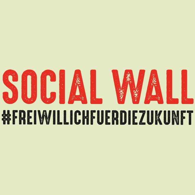 AWO Social Wall: #freiwillichfuerdiezukunft